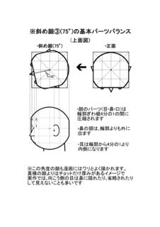 斜め顔�B(75°)パーツバランス.png